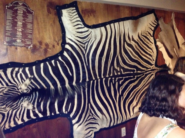 Is it black with white stripes or white with black stripes?