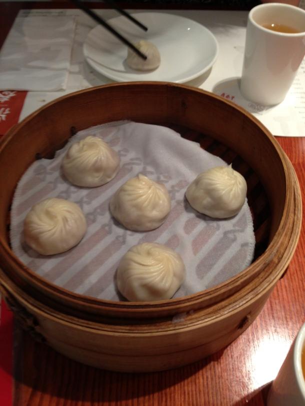 Taro dumplings