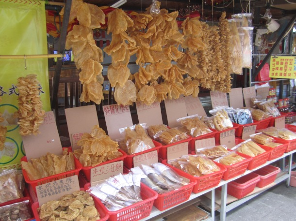 Mmm, dried fish