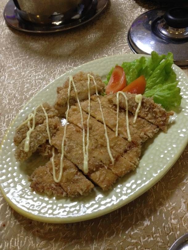 Donkatsu or pork cutlet