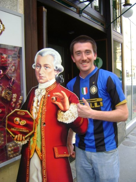 All's cool with Mozart and I