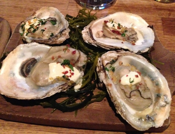 Kusshi oysters