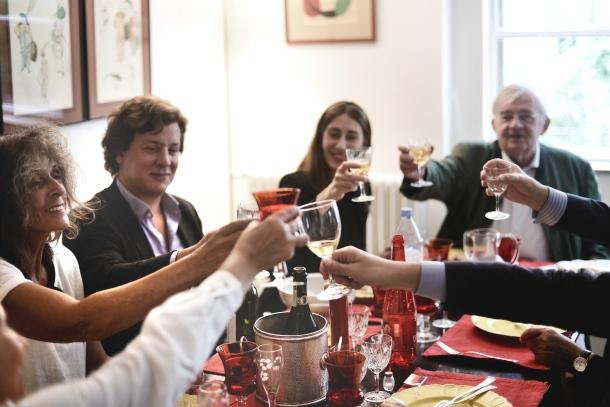 Marie-Claude's dinner,