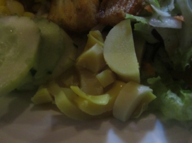 Heart of palm and chayote