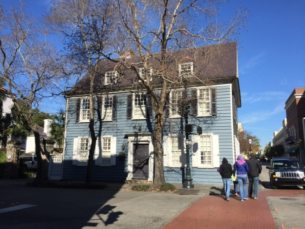 Oldest house in Charleston